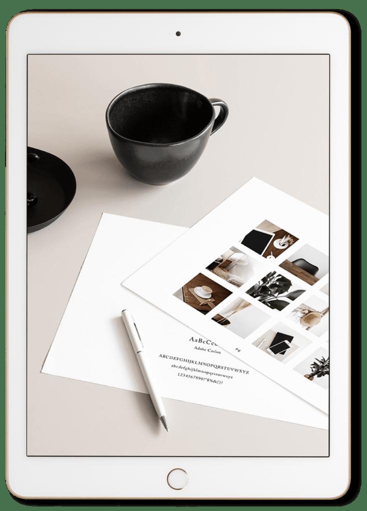 Build Your Brand iPad